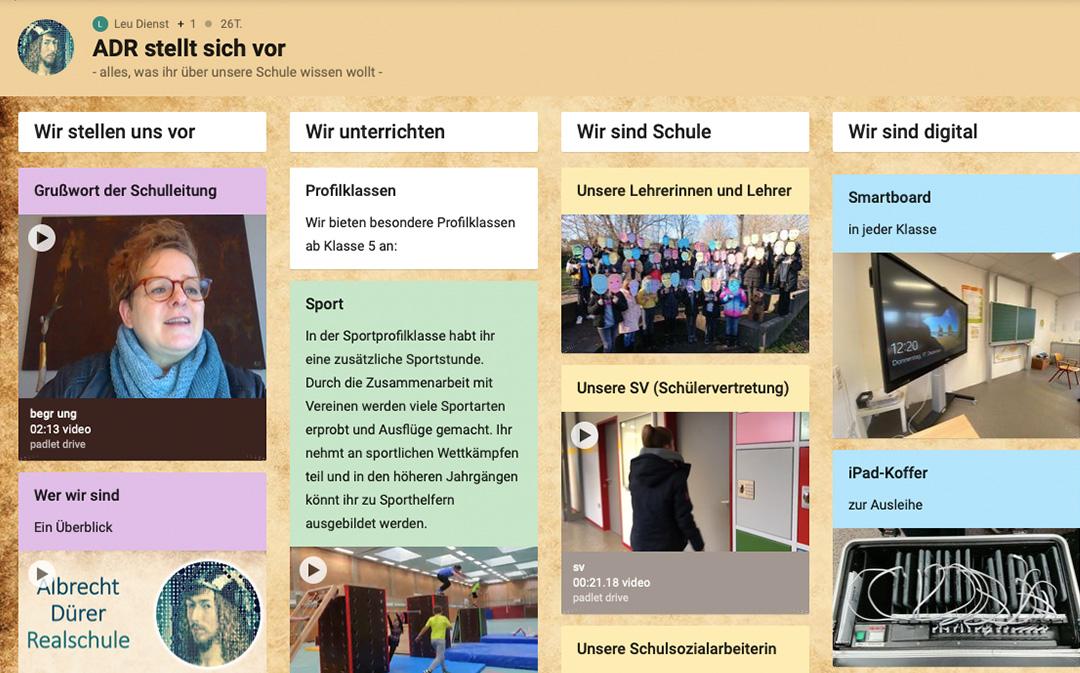 Info-Nachmittag für Viertklässler – digital!